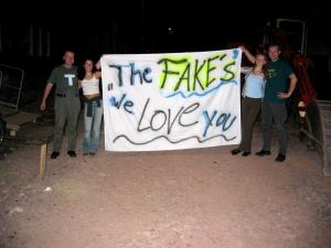 Der erste Gig 2003